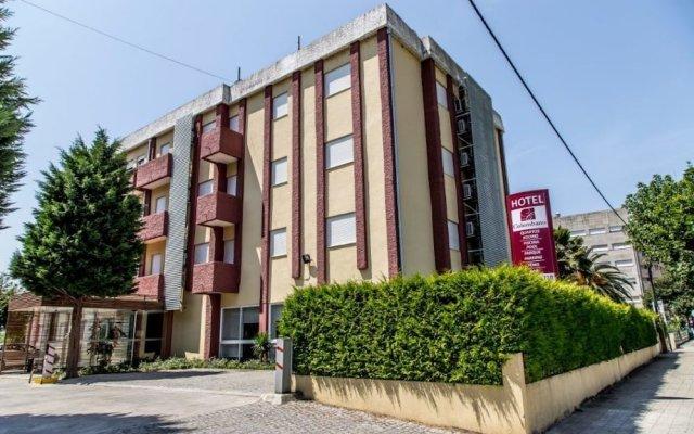Hotel Columbano вид на фасад