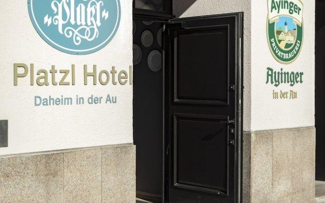Отель Marias Platzl Мюнхен вид на фасад