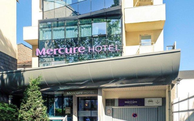 Hotel Mercure Paris Malakoff Parc des Expositions вид на фасад