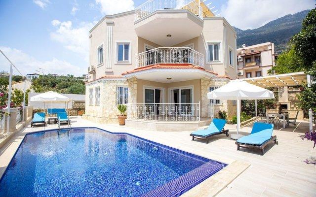 Villa Monte by Akdenizvillam Турция, Калкан - отзывы, цены и фото номеров - забронировать отель Villa Monte by Akdenizvillam онлайн вид на фасад