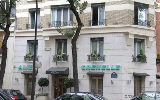 Отель Hôtel Alizé Grenelle Tour Eiffel вид на фасад