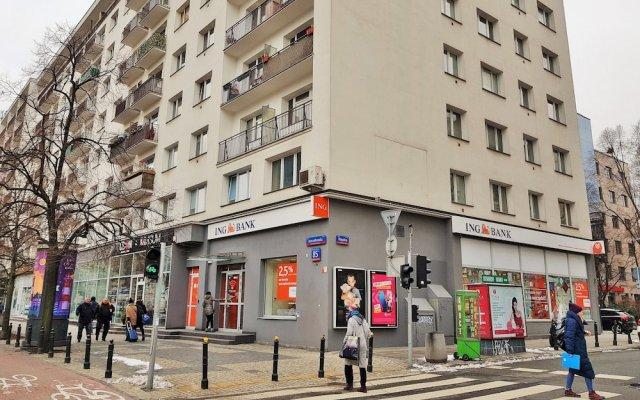 Отель MTB Apartamenty Marszalkowska вид на фасад