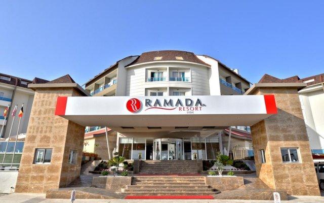 Blue Paradise Side Hotel - All Inclusive Сиде вид на фасад