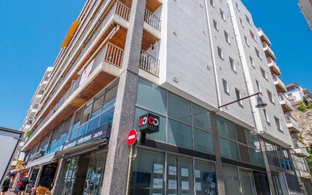 Отель Apartaments AR Borodin Испания, Льорет-де-Мар - отзывы, цены и фото номеров - забронировать отель Apartaments AR Borodin онлайн вид на фасад
