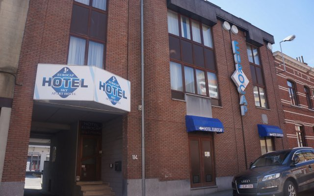 Hotel Eurocap вид на фасад