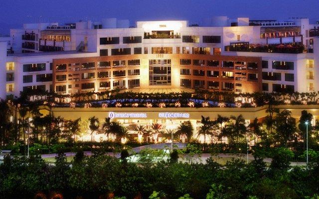 Отель InterContinental Shenzhen Китай, Шэньчжэнь - отзывы, цены и фото номеров - забронировать отель InterContinental Shenzhen онлайн вид на фасад