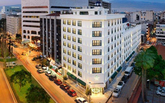 Kordon Hotel Cankaya вид на фасад