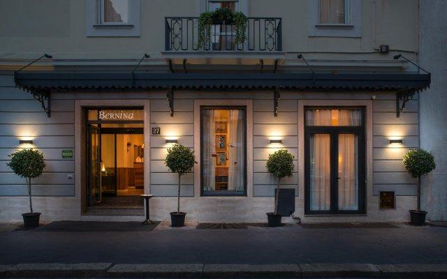 Hotel Bernina вид на фасад