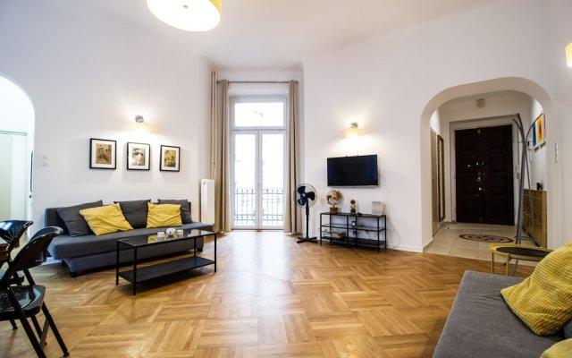 Отель Kopernika Apartament City Centre Варшава комната для гостей
