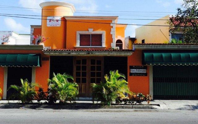 Отель Boutique Casa Mallorca Мексика, Канкун - отзывы, цены и фото номеров - забронировать отель Boutique Casa Mallorca онлайн вид на фасад