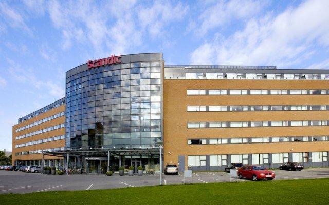 Отель Scandic Sydhavnen Дания, Копенгаген - отзывы, цены и фото номеров - забронировать отель Scandic Sydhavnen онлайн вид на фасад