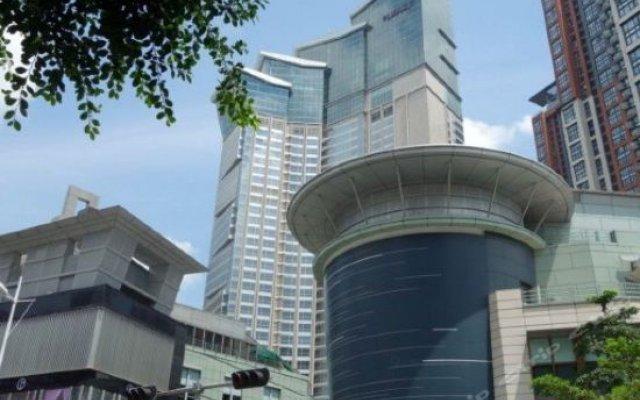 Отель Grand Hyatt Shenzhen Китай, Шэньчжэнь - отзывы, цены и фото номеров - забронировать отель Grand Hyatt Shenzhen онлайн вид на фасад