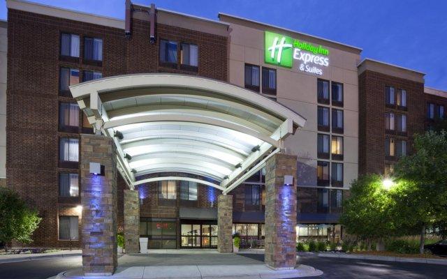 Отель Holiday Inn Express & Suites Bloomington - MPLS Arpt Area W, an IHG Hotel США, Блумингтон - отзывы, цены и фото номеров - забронировать отель Holiday Inn Express & Suites Bloomington - MPLS Arpt Area W, an IHG Hotel онлайн вид на фасад