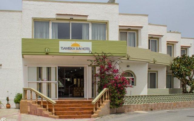 Отель Tsambika Sun Парадиси вид на фасад