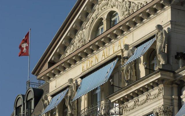 Отель La Réserve Eden au Lac Zurich Швейцария, Цюрих - отзывы, цены и фото номеров - забронировать отель La Réserve Eden au Lac Zurich онлайн вид на фасад