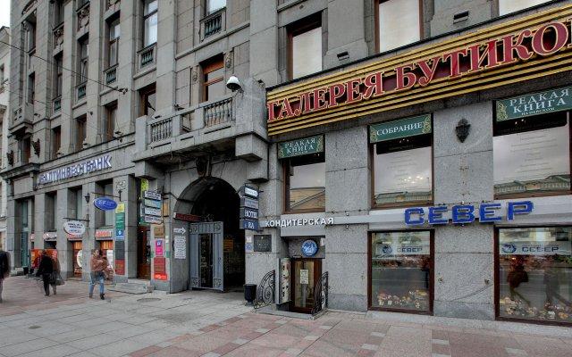 Гостиница РА на Невском 44 вид на фасад