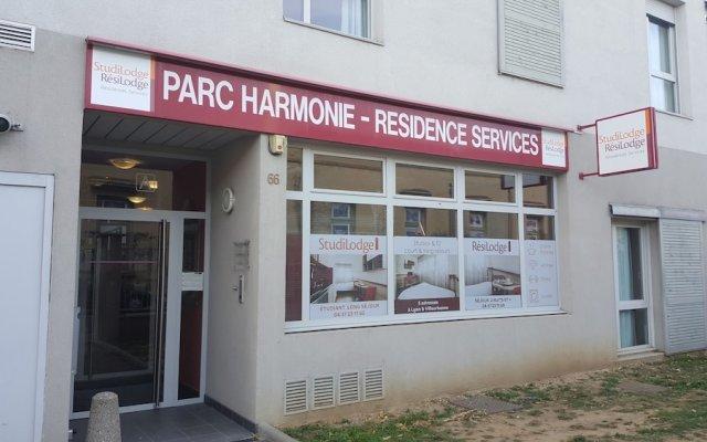 Отель Parc Harmonie Франция, Лион - отзывы, цены и фото номеров - забронировать отель Parc Harmonie онлайн вид на фасад