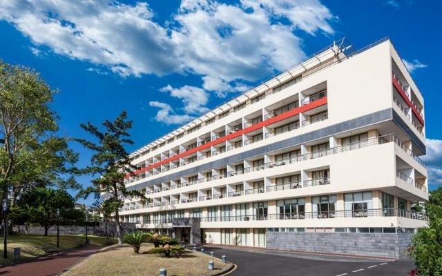 Отель Sao Miguel Park Hotel Португалия, Понта-Делгада - отзывы, цены и фото номеров - забронировать отель Sao Miguel Park Hotel онлайн вид на фасад