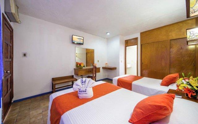 Отель Hacienda De Vallarta Las Glorias Пуэрто-Вальярта комната для гостей