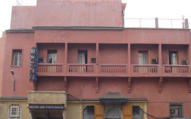 Отель FOUCAULD Марракеш вид на фасад