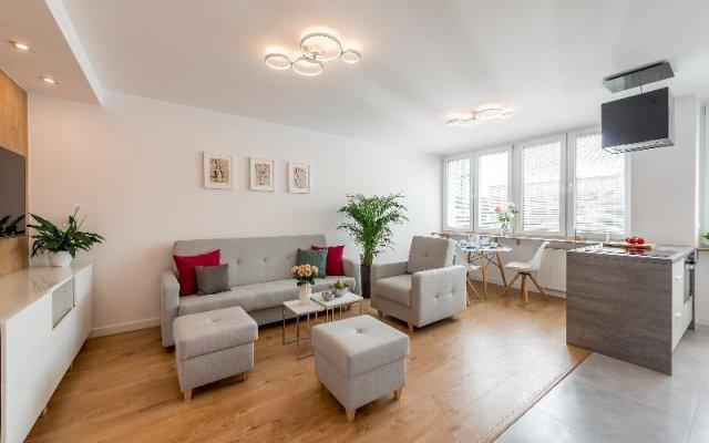Отель P&O Apartments Centralny Польша, Варшава - отзывы, цены и фото номеров - забронировать отель P&O Apartments Centralny онлайн комната для гостей