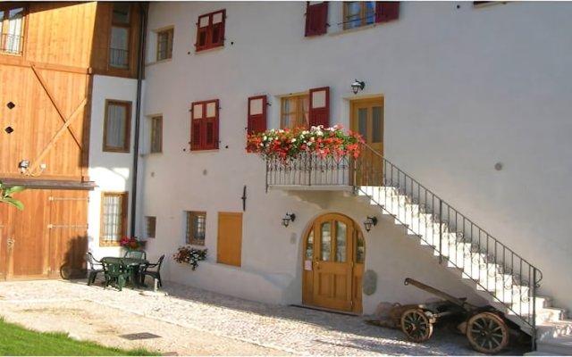 Отель Agritur Maso San Bartolomeo Монклассико вид на фасад