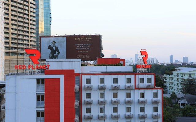 Отель Red Planet Bangkok Asoke вид на фасад