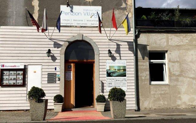 Отель Penzion Village Чехия, Карловы Вары - отзывы, цены и фото номеров - забронировать отель Penzion Village онлайн вид на фасад