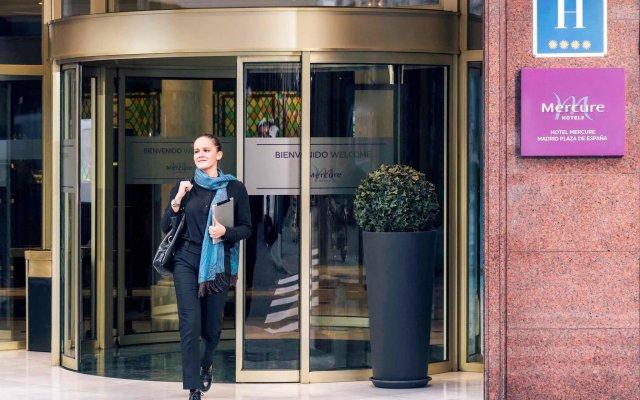 Mercure Madrid Plaza De Espana Hotel вид на фасад