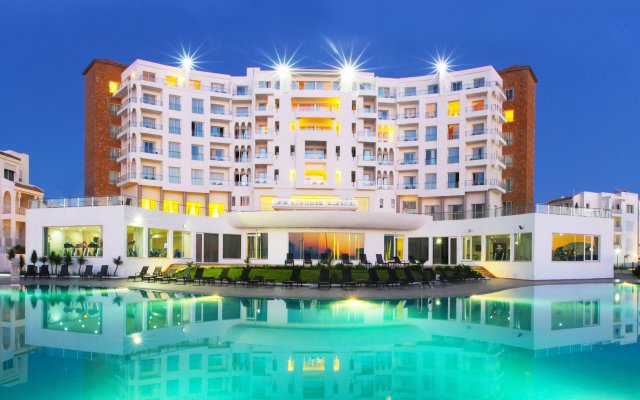 Отель Grand Mogador SEA VIEW Марокко, Танжер - отзывы, цены и фото номеров - забронировать отель Grand Mogador SEA VIEW онлайн вид на фасад