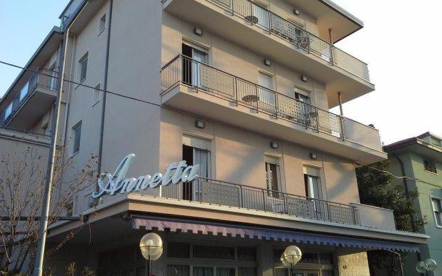Hotel Annetta вид на фасад