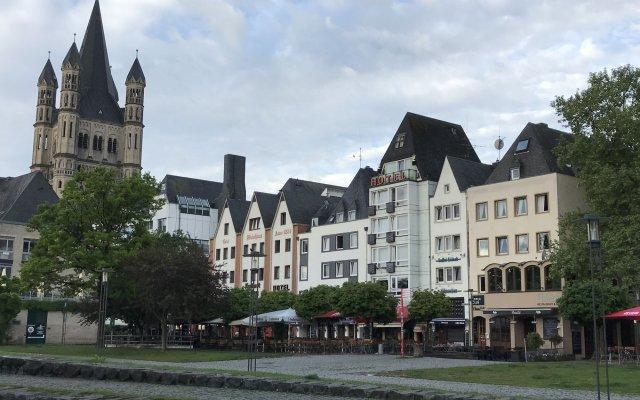 Отель City Apartment Германия, Кёльн - отзывы, цены и фото номеров - забронировать отель City Apartment онлайн вид на фасад
