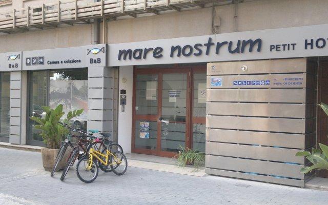 Отель Mare Nostrum Petit Hôtel Поццалло вид на фасад