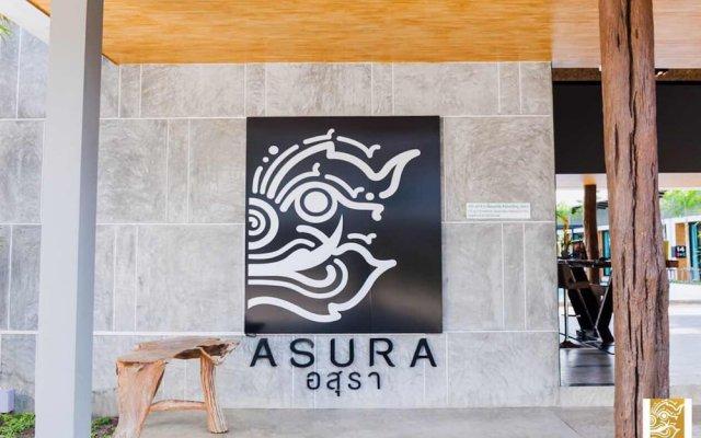 Отель Asura resort вид на фасад