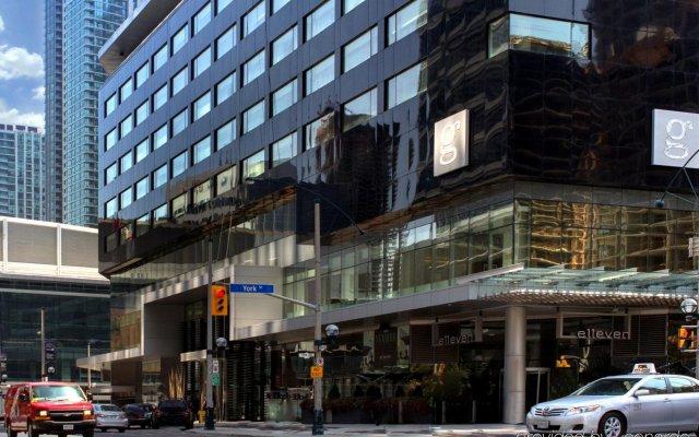 Отель le Germain Maple Leaf Square Канада, Торонто - отзывы, цены и фото номеров - забронировать отель le Germain Maple Leaf Square онлайн вид на фасад