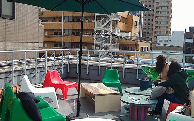 Hako Hostel And Bar Токио вид на фасад