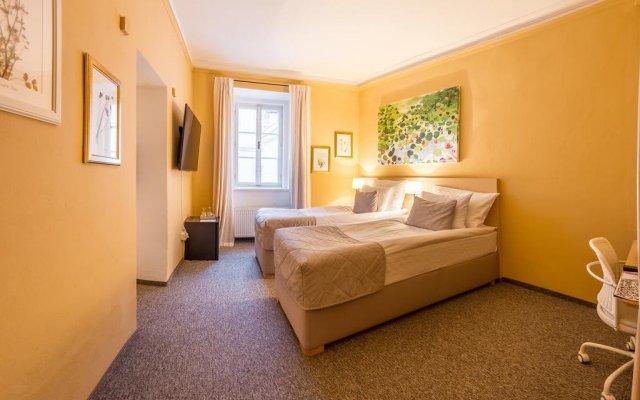 Отель Grandhotel Salva Литомержице комната для гостей