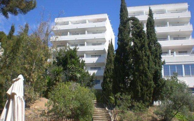 Отель Apartamentos Vista Club вид на фасад