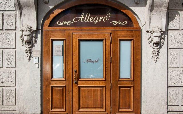 Гостиница Аллегро На Лиговском Проспекте вид на фасад