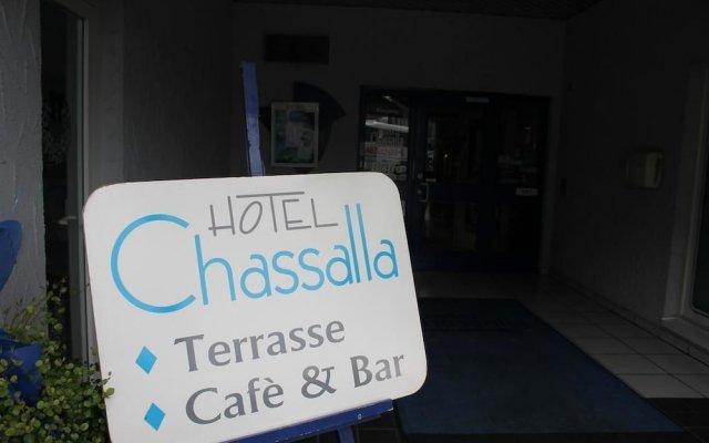 Hotel Chassalla вид на фасад