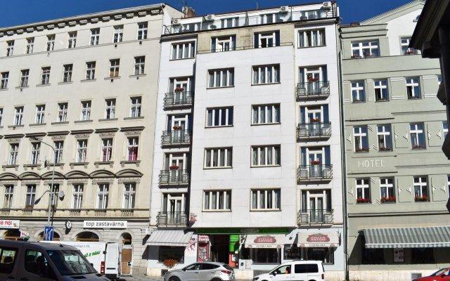 Отель Rezidence Davids Прага вид на фасад