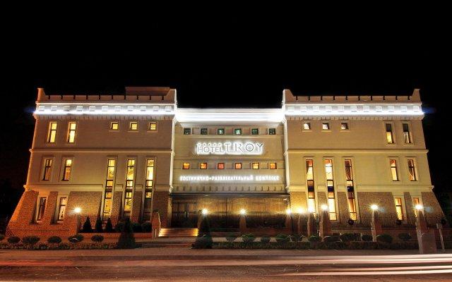 Отель Троя Краснодар вид на фасад