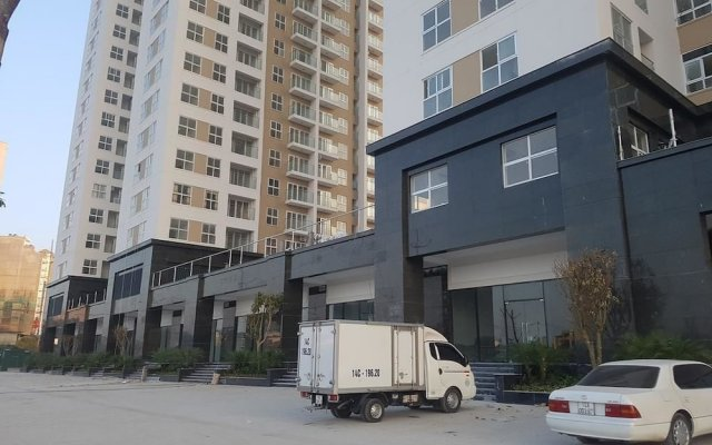 Апартаменты Viet Apartment - New Life Tower Block C вид на фасад