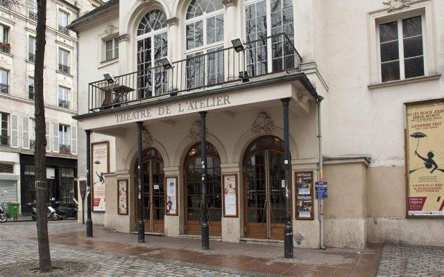 Апартаменты BP Apartments - Cozy Montmartre вид на фасад