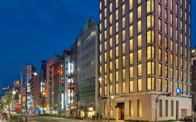 Отель Ginza Nikko Hotel Япония, Токио - отзывы, цены и фото номеров - забронировать отель Ginza Nikko Hotel онлайн вид на фасад