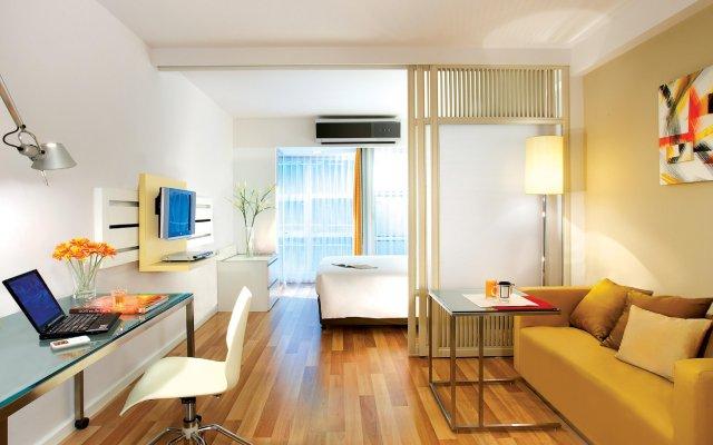 Отель Citadines Sukhumvit 16 Bangkok Таиланд, Бангкок - 1 отзыв об отеле, цены и фото номеров - забронировать отель Citadines Sukhumvit 16 Bangkok онлайн комната для гостей