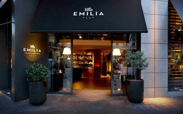 Hotel Villa Emilia вид на фасад