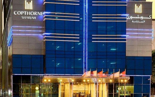 Отель Copthorne Hotel Sharjah ОАЭ, Шарджа - отзывы, цены и фото номеров - забронировать отель Copthorne Hotel Sharjah онлайн вид на фасад
