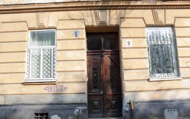 Мини-Отель Polska Poduszka Львов вид на фасад