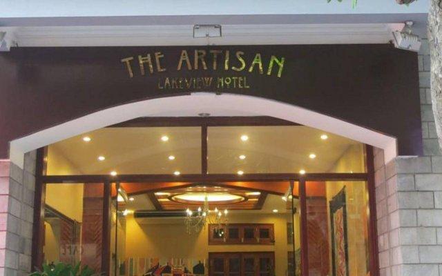 Отель The Artisan Lakeview Hotel Вьетнам, Ханой - 2 отзыва об отеле, цены и фото номеров - забронировать отель The Artisan Lakeview Hotel онлайн вид на фасад